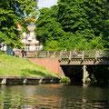 Schloßgraben-Brücke zum Schlosspark Köpenick
