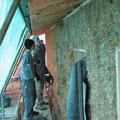 nachhaltiges Bauen mit Naturbaustoffen an unserem Niedrigenergiehaus