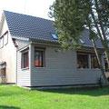 Anbau aus Naturbaustoffen Holz, Lehm und Stroh als Niedrig-Energie-Haus