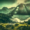 Silser See, Oberengadin