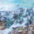 Höhle da Vinci - Zeitgeist 2 - Lack, Acryl, Öl auf Leinen 60 x 80 cm