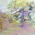 Michaelsparade II... 185  x 44 cm lack auf holz