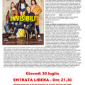 Rivergaro: Cinema sotto le Stelle estate 2020 - terzo appuntamento giovedì 30 luglio ore 21,30 - LE INVISIBILI