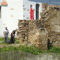 Arbeiten an der Ringmauer