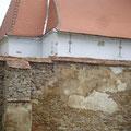 Ansicht renovierte Kirchenburg von Süden