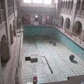 Die Bauarbeiten sollen in diesem Jahr noch beendet werden. Die Eröffnung als Schwimmbad