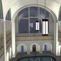 So oder ähnlich könnte die Halle bald aussehen.   © alle Fotos Katja Liebau, GLS
