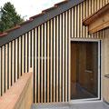 Strebel Holzbau Umbau Dachstock und Fassaden Erneuerung