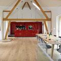 Strebel Holzbau Umbaukonzept altes Bauernhaus Küchenansicht
