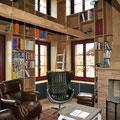Strebel Holzbau Umbaukonzept altes Bauernhaus Wohnraum