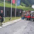 Rasenpflege beim Sportpark Lech