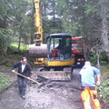 Waldbad Lech Straßensanierung