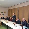 Manfred eröffnet die Jahreshauptversammlung 2015