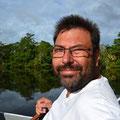 Ausflug Lamaini auf New River, Belize