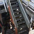 Und unter der Treppe wird auch gewohnt