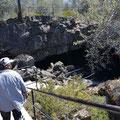 Subway Cave, Lassen NF (nördlich des Lassen NP): Eingang