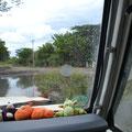 Abkürzung Juigalpa - Granada, Flussdurchfahrt Nr. 1