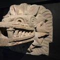 Gefiederte Schlange oder Quetzalcoatl