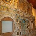 Altar San Sebastian, ohne Sanierung sehen die so aus....
