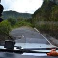 Auf dem Berg/Aussichtspunkt kann man bequem mit dem Auto fahrenm, allerdings ist die Straße sehr steil
