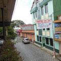 Das Hotel liegt perfekt neben einer Lavanderia und es gibt in Cobán auch