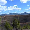 Krater des Cinder Cone