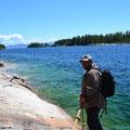 Kanada, Lake Superior, Agawa Rock