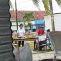 El Rama -  Ourtdoorküche des Markplatz-Comida