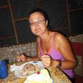 Lecker Essen im TEC, Belize-Zoo (21.10.20.14)
