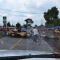 Auch wenn Schafsherden die Straßen queren.... kein Problem in Mexico