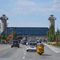 Nordeingang Reno auf Hauptachse Virginia Street