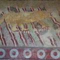 Jaguar Mural, Fresco