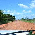 Die MEX179. Mal eine Straße wie wir sie erwartet haben.