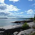 Ufer des Lake Superior am CG