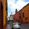 Der gehört immer noch zum typischen Stadtbild: der Käfer.