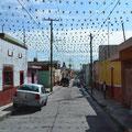 Typisches Mexicanisches Dorf im Hochland.