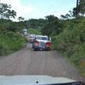 Von El Rama in Richtung Karibik - Ende der Fahrt eines Palmöl-Transporters