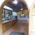Die Küche... hier wird lecker gekocht und serviert.