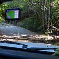 Die King-Peak-Road, sollte nur mit geländegängigen Fahrzeugen befahren werden. Nördliche Anfahrt zum Tolkan-CG
