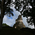 Templo I (von hinten durch die Brust ins Auge)