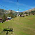 Von Flims mit dem Sessellift bis Alp Foppa