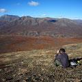 Super Aussicht oben auf dem Berg