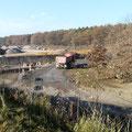 22.11.2011 12.31 Uhr - LKW in Richtung Kiesgrube Schaafheim