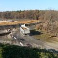 22.11.2011 12.33 Uhr - LKW in Richtung Kiesgrube Schaafheim