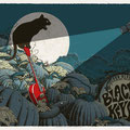 The Black Keys gig poster by Neal Williams