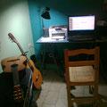 Noche de trabajo en el estudio