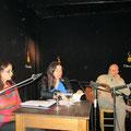 De poetas y musiqueros, con Giselle Aronson e Ivana Szac. Rosario, 17/7/2012.