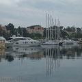 """Le port de l'île de Paul Ricard """"Les Embiez"""""""
