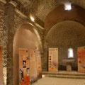 Vue intérieure de la chappelle des Templiers