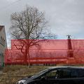 Fotomontage HGV mit geplanter Bauhöhe, 03/2015